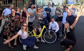 Watch: E-bikes with our extended Tribe image