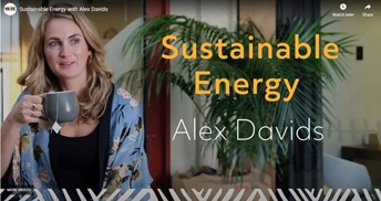 Sustainable energy with Alex Davids image