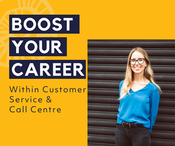 Boost your career within Customer Service & Call Centre image