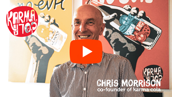 Watch: Karma Cola co-founder Chris Morrision - how's your sustainability karma? image