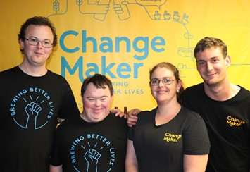 Change Maker Beer brewing better lives image