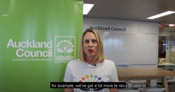 Watch: Sonya Bloomfield, Auckland Council - How do you recruit a diverse workforce image
